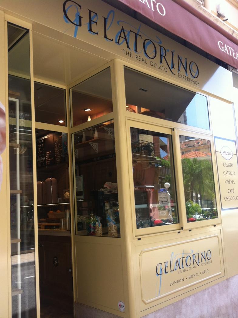морожено gelatorino монако