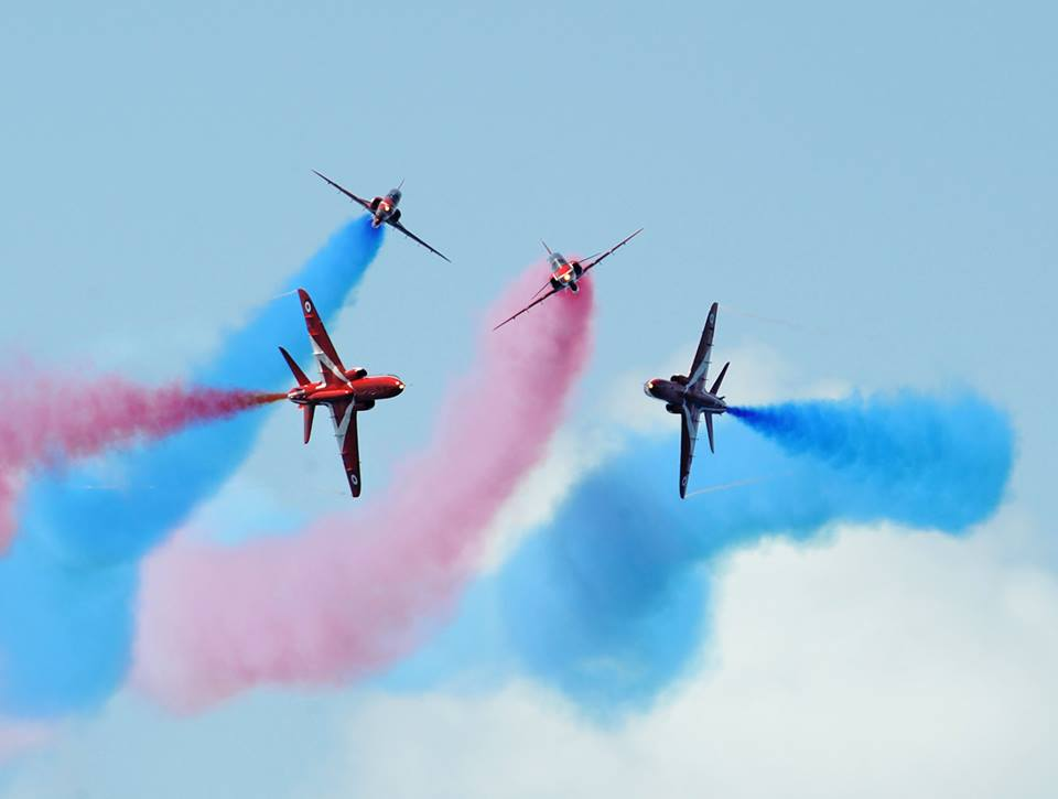 Red Arrows air-show Monaco