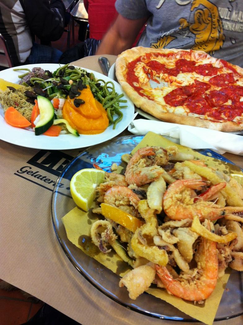 рестораны в Монако: вегетарианская еда и пицца