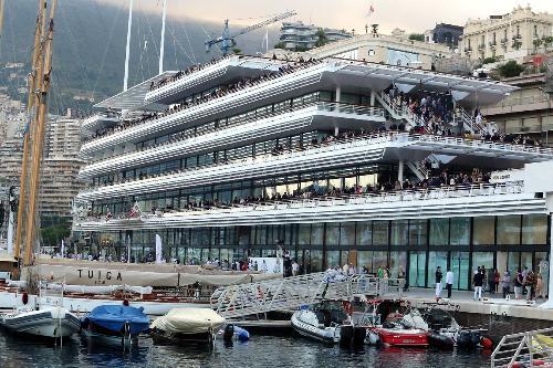 яхт клуб монако открытие 2014
