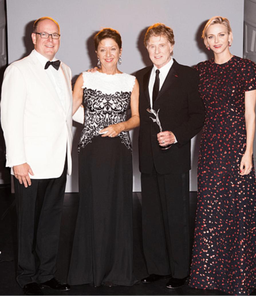 Князь Альбер II и княгиня Шарлен вручили награды Princess Grace Awards-2015