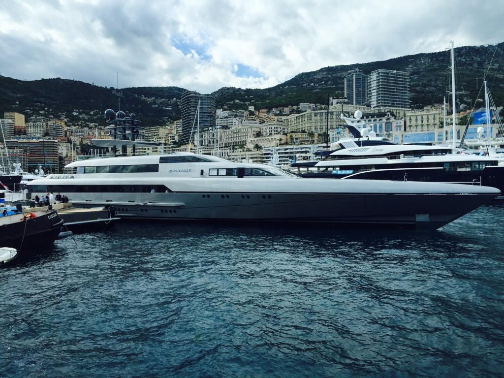 яхта Silver Fast в монако
