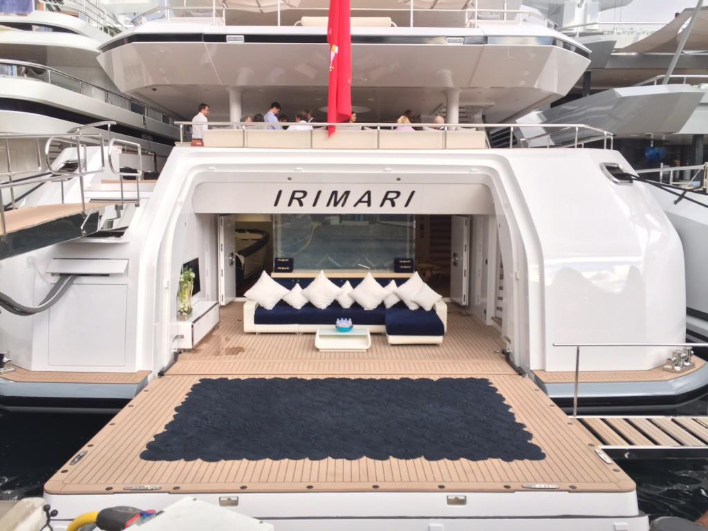 Яхта Irimari в Монако