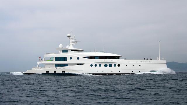 "яхт-шоу в Монако, яхта ""Мадам Кейт"""