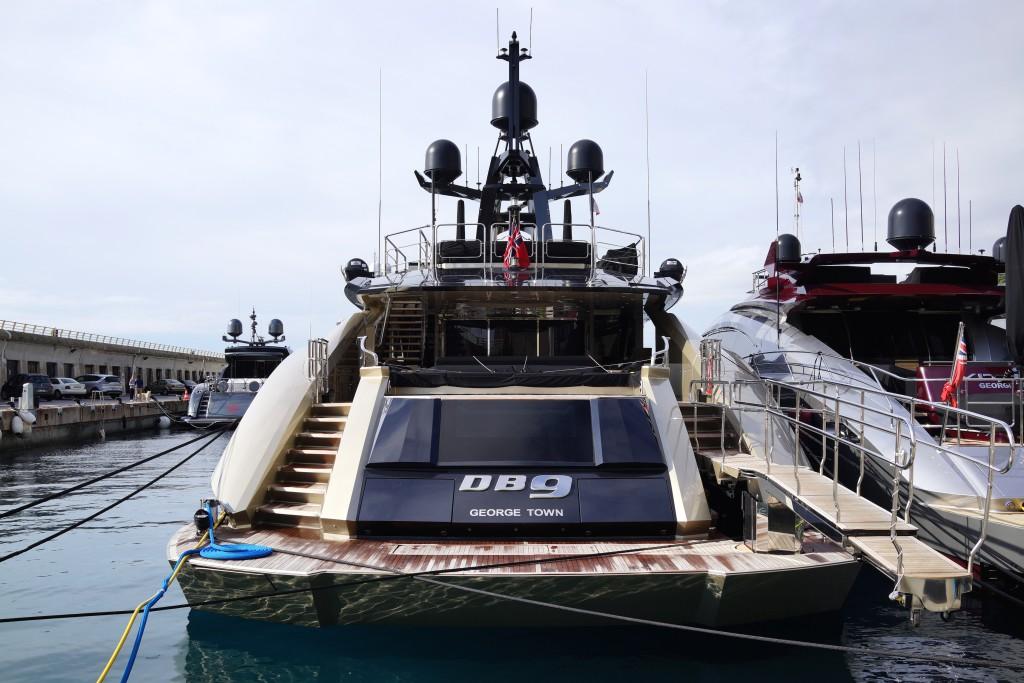 Palmer Johnson яхта  DB9