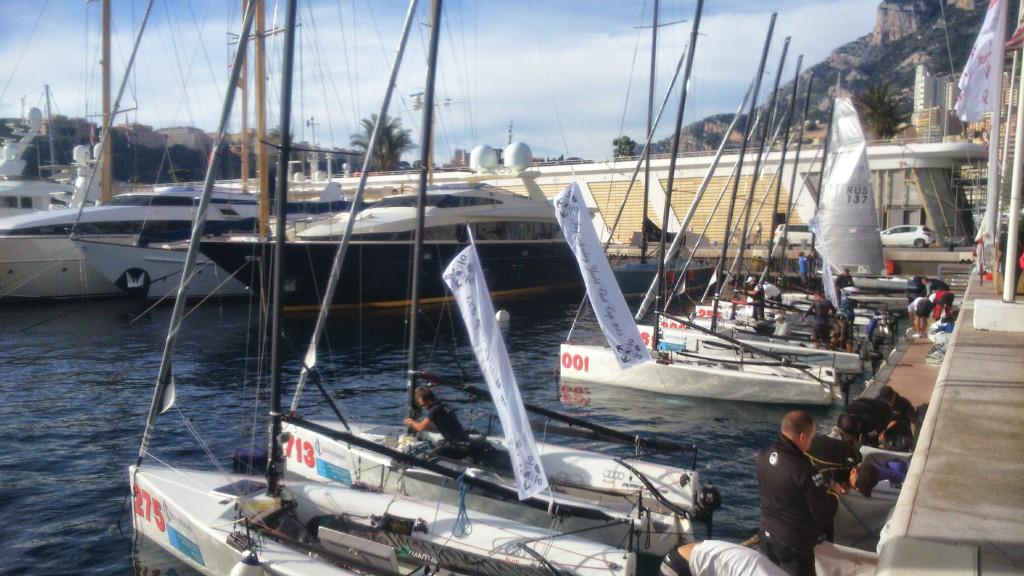 Яхты на соревнованиях Monaco Melges 20 Winter Series