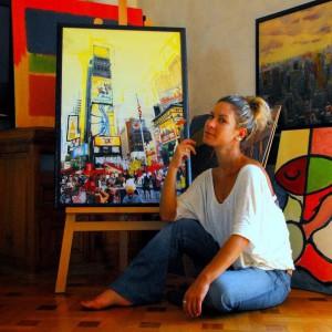 Художественная выставка Маринды Скараманга