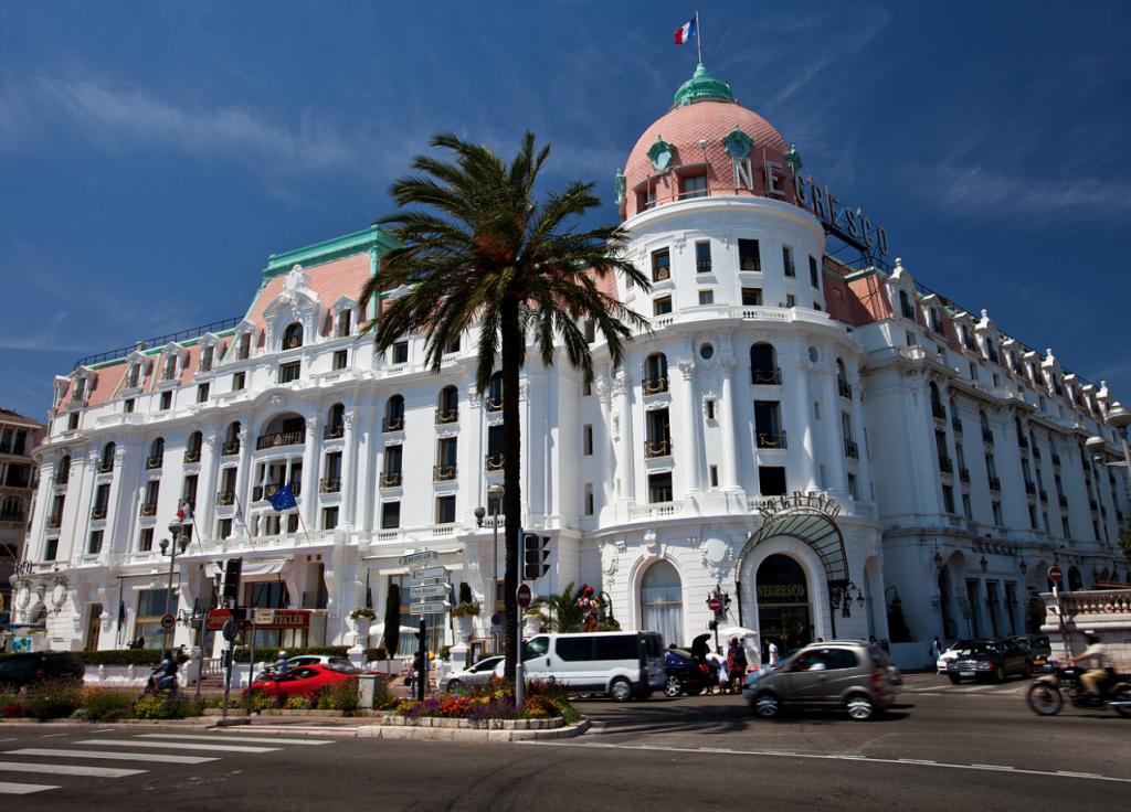 Отель Negresco в Ницце