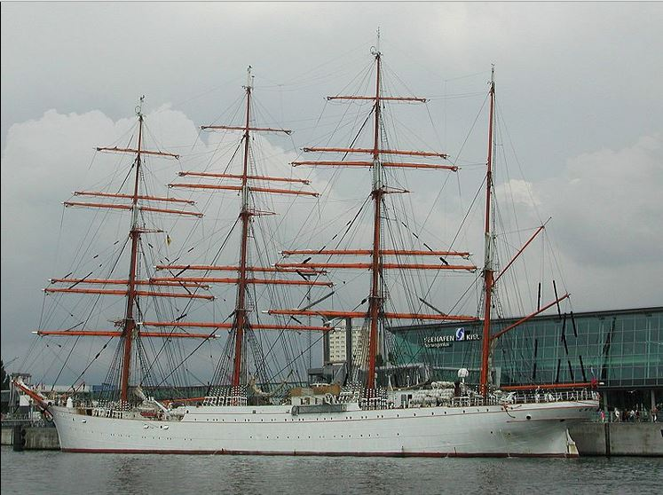 Русский корабль Седов