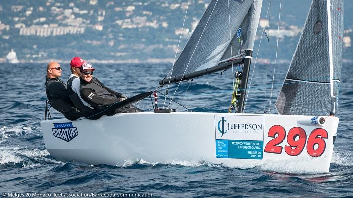 Второй этап Monaco Melges20 Winter Series