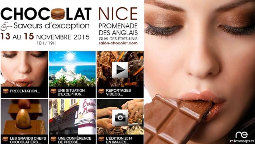 Салон шоколада в Ницце