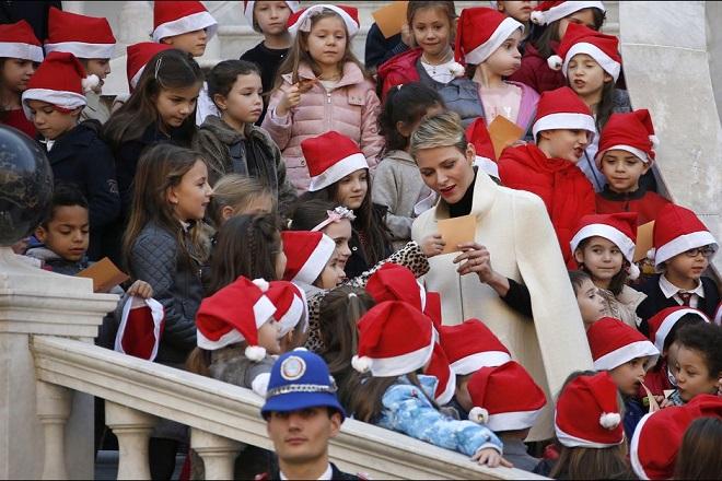 Княгиня Шрлен на Новогодней елке