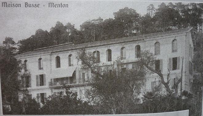 Ментон в 20 веке