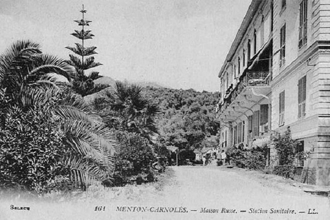 Фотография Русского дома в Ментоне