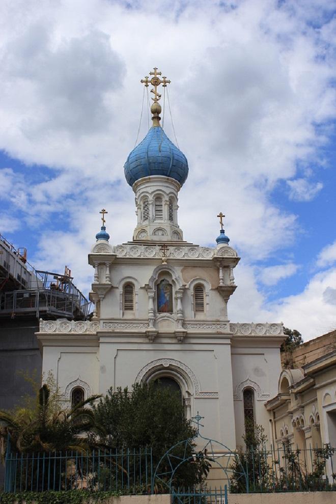 Церковь в Ментоне