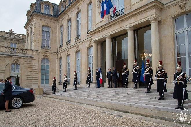 Церемония награждения Орденом Командора