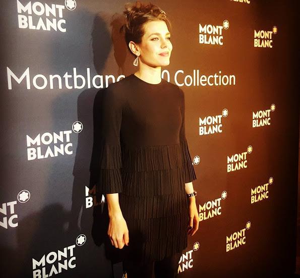 Принцесса Шарлотта Казираги лицо компании Montblanc