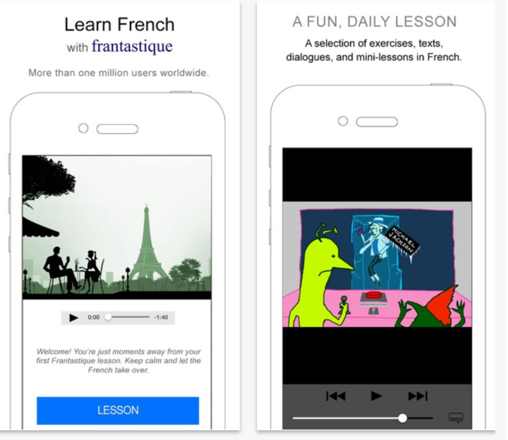 Выучить французский с Frantastique