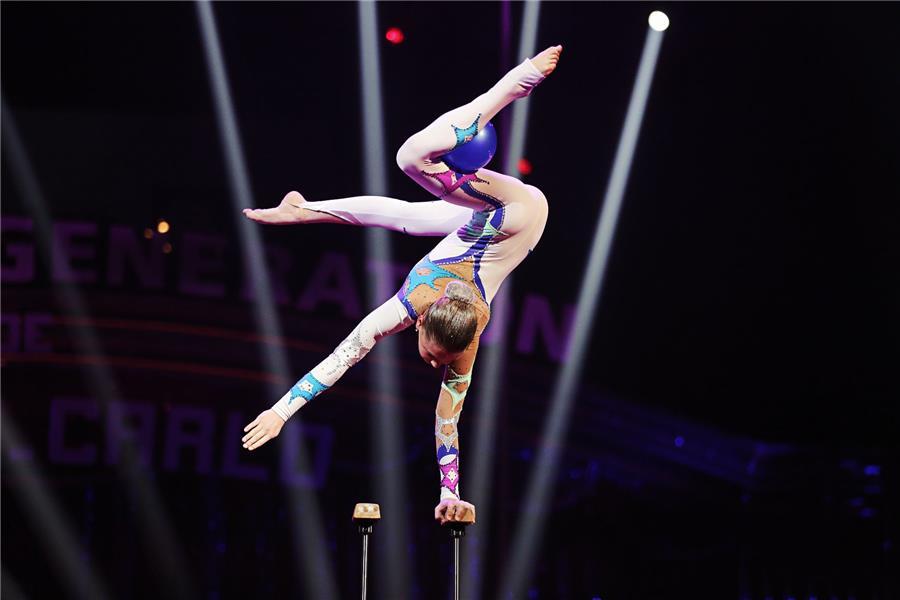 Выступление российской гимнастки