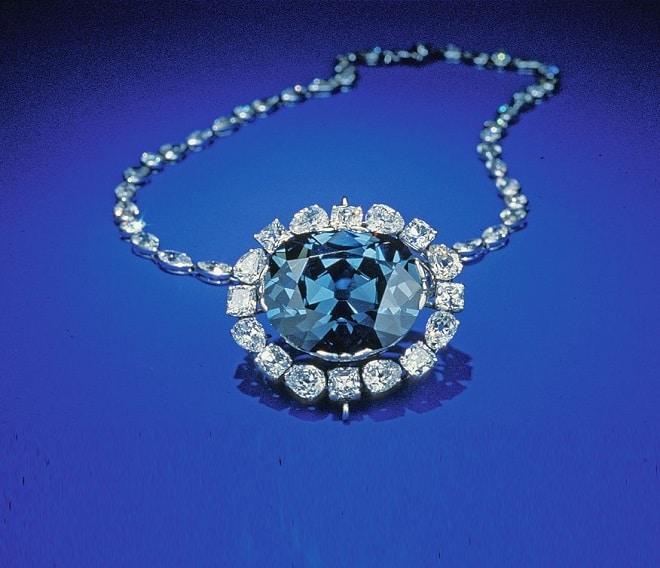 Алмаз Хоупа или «Голубой француз»