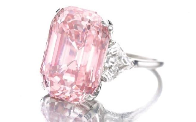 Бриллиант «Розовый граф»