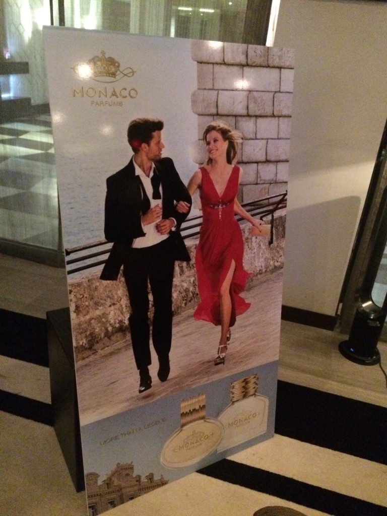 Реклама парфюма Монако
