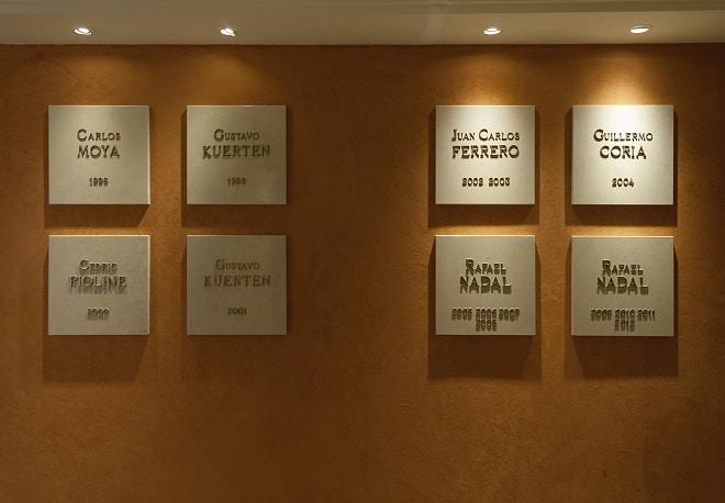 победители разных лет Rolex Masters Monte-Carlo