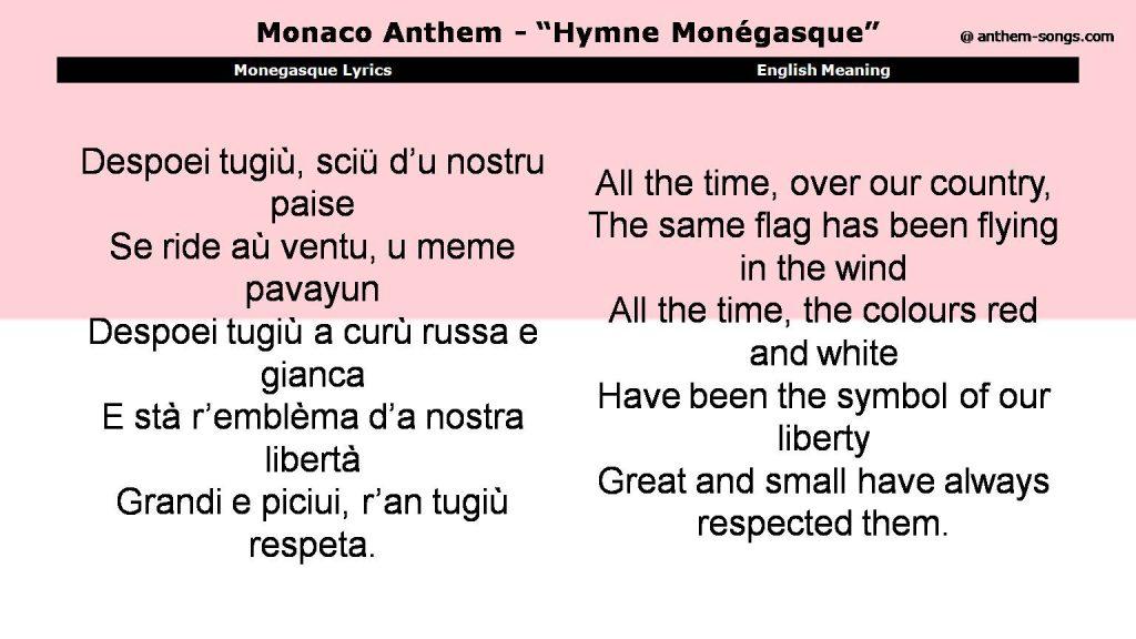 Малоизвестные факты о Монако: флаг, гимн и традиции княжества