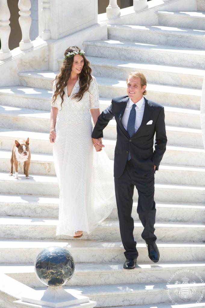 Свадьба Андреа Казираги и Татьяны Санто-Доминго
