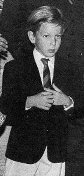 Юный Андреа Казираги