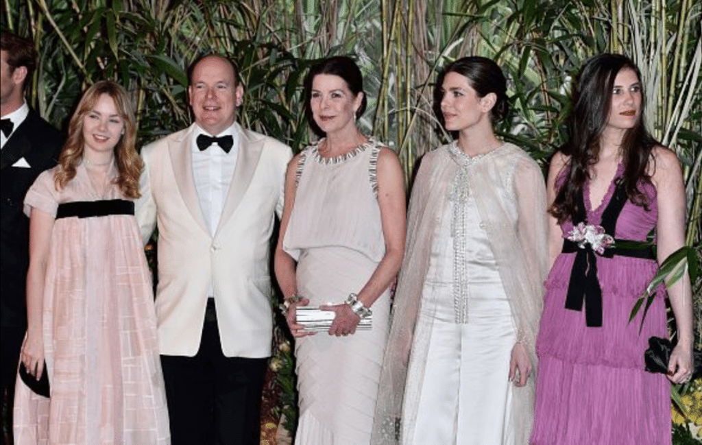 Княжеская семья на Балу Роз 2016