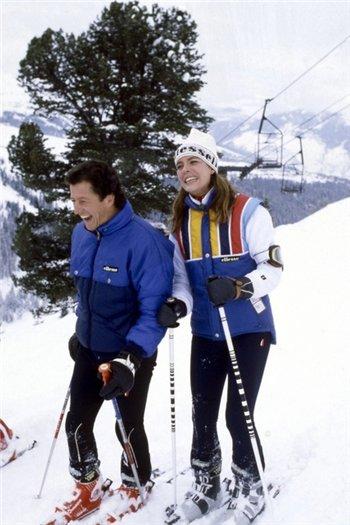Каролина с мужем Филиппом