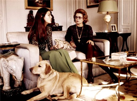 Принцесса Каролина с матерью принцессой Грейс