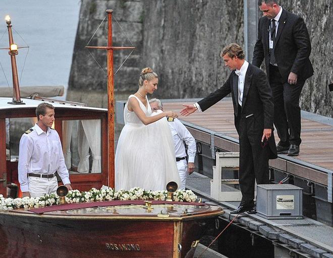 Свадьба Пьера и Беатрис на острове Isolino di San Giovanni