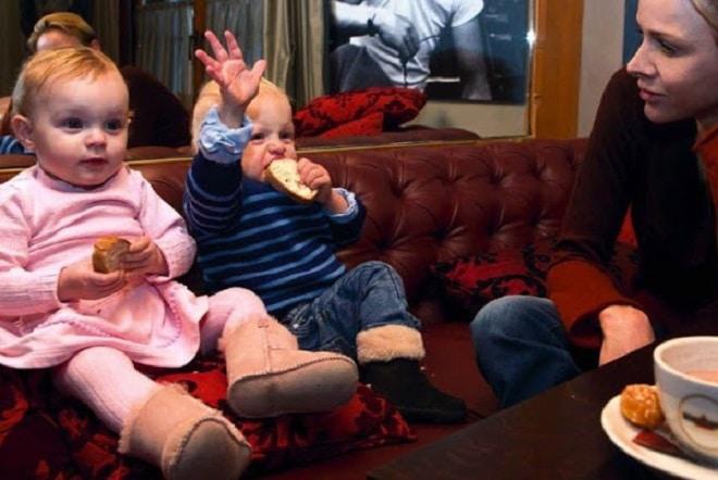 Семейные фотографии с близнецами Гримальди