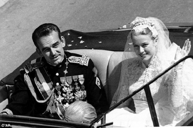 Свадьба Принцессы Грейс Келли и князя Ренье III
