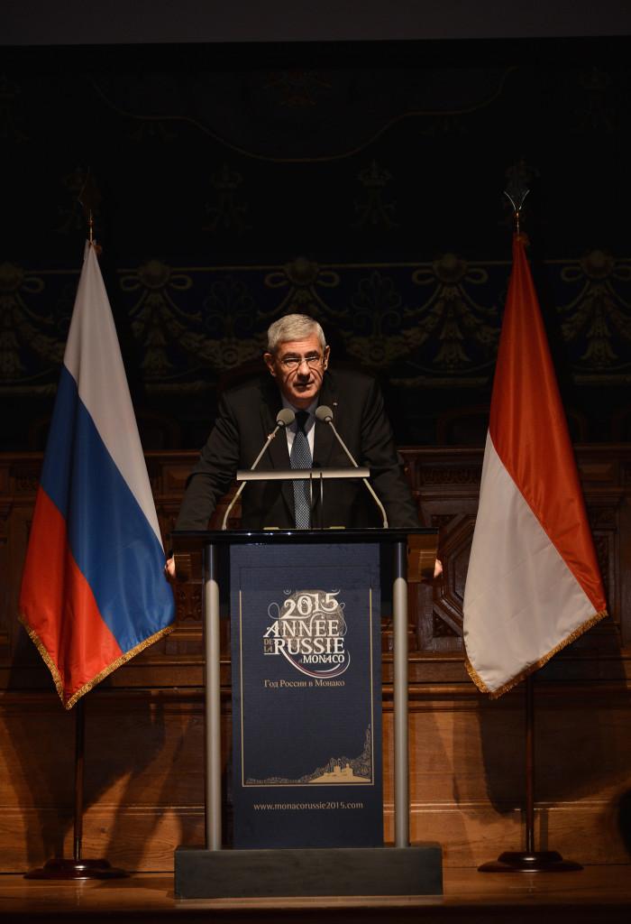 Выступление Анри Фиссора