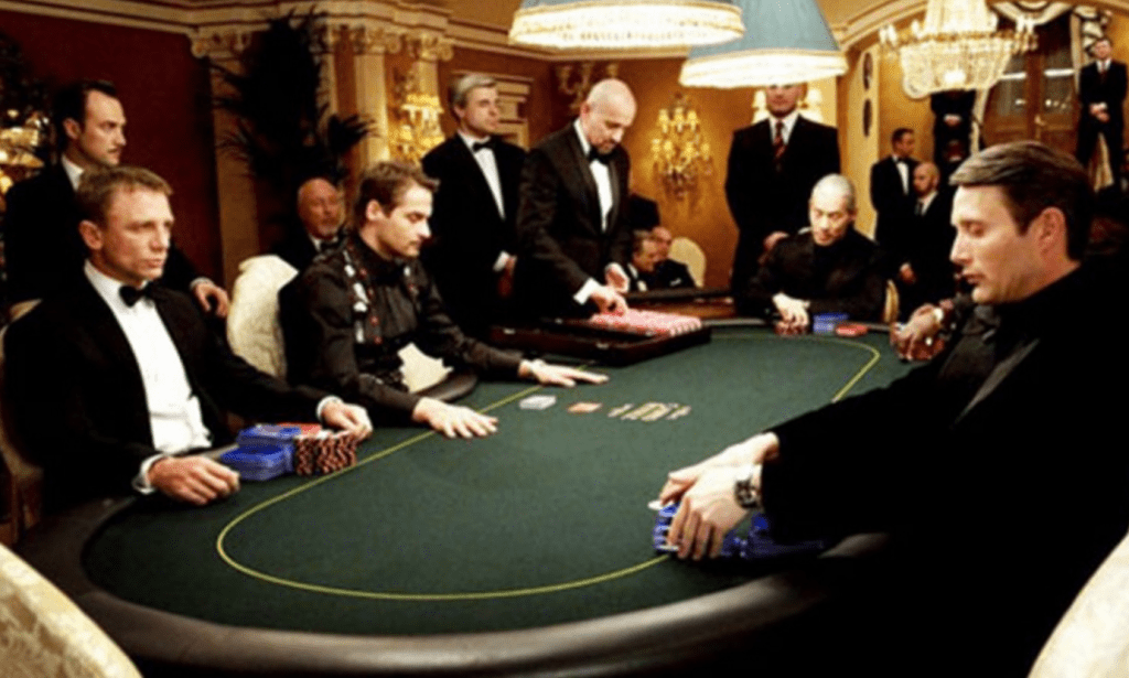 Игра в казино Монте-Карло