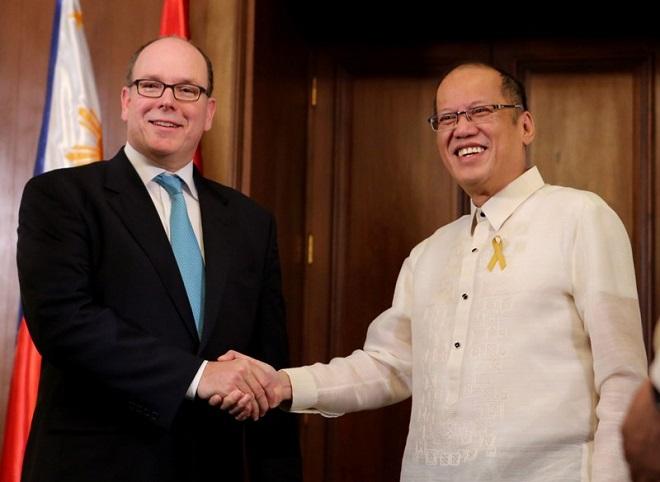 Князь Монако и правитель Филиппин