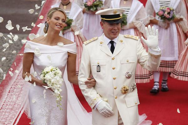 Свадьба Шарлен и Альбера