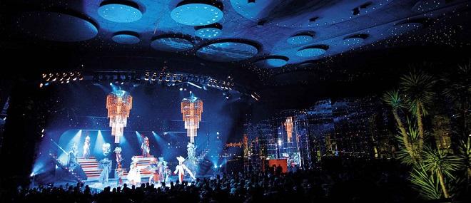 Выступление на летнем фестивале Монте-Карло