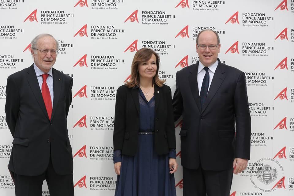 Открытие филиала фонда Альбера II
