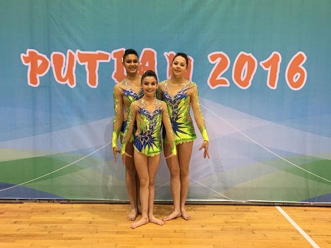Команда гимнасток из Монако