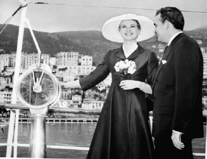 Свадьба Грейс Келли и Князя Ренье III в Монако