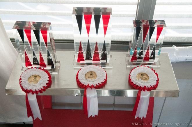 Медали в турнире по нардам