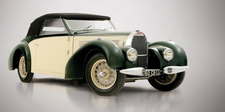 Bugatti Type 57 Cabriolet 1939 года
