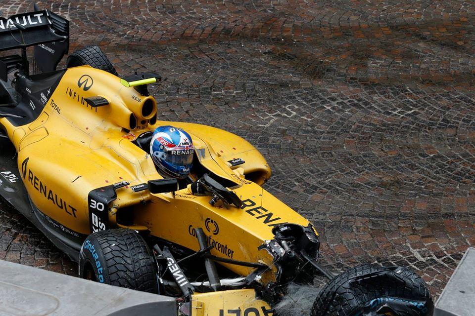 Авария на Гран-при Монако 2016