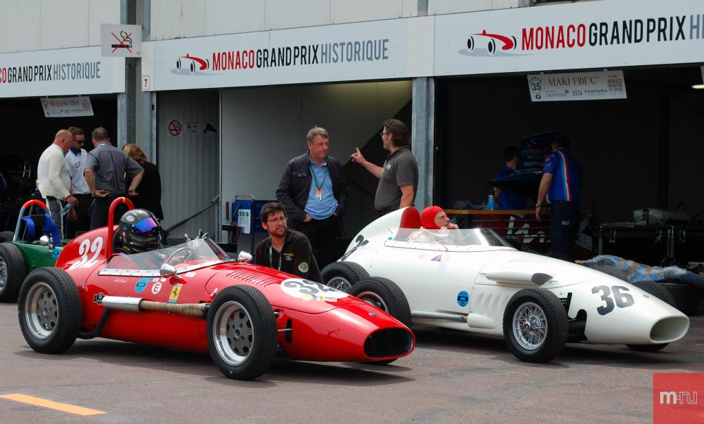 Раритетные болиды на Гран-при в Монако