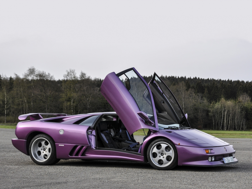 Lamborghini Diablo SE30 Jota 1995 года