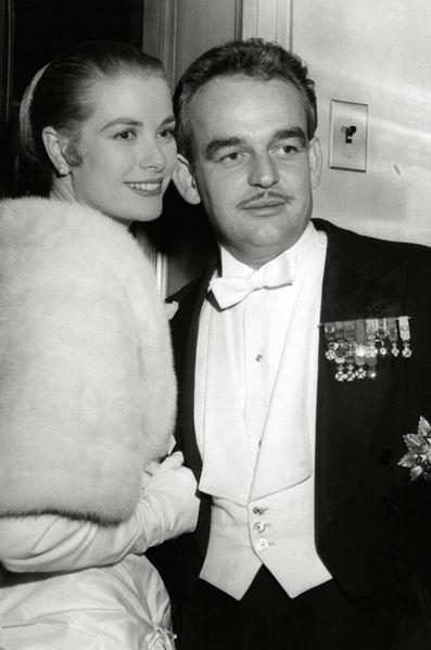 Свадьба князя Рнье и Грейс Келли